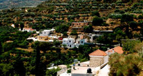 Traditional mountain villages in east Crete