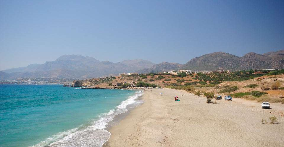 South east Crete for some of teh best beach holidays in Crete